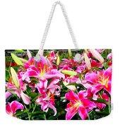 Stargazer Lilies #5 Weekender Tote Bag