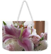 Stargazer Oriental Lilly Weekender Tote Bag