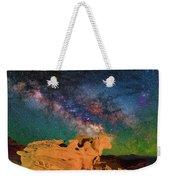 Stargazing Bull Weekender Tote Bag