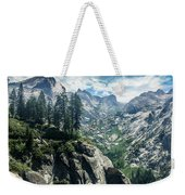 Staring At The Continental Divide Weekender Tote Bag