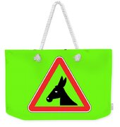 Staring Bigstock Donkey 171252860 Weekender Tote Bag