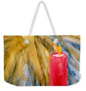 Starlight And Candlelight Weekender Tote Bag