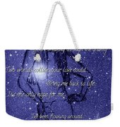 Starlight Of Space And Time 3 Weekender Tote Bag