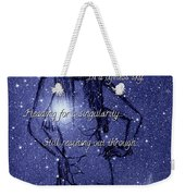 Starlight Of Space And Time 4 Weekender Tote Bag
