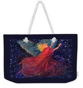 Starry Angel Weekender Tote Bag