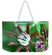 Starry Droplets Weekender Tote Bag