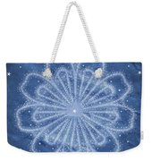 Starry Kaleidoscope Weekender Tote Bag