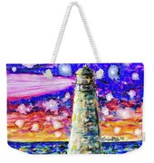 Starry Light Weekender Tote Bag by Monique Faella