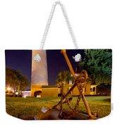 Starry Night Big Light Weekender Tote Bag