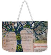 Starry Night-inspired Tree Weekender Tote Bag