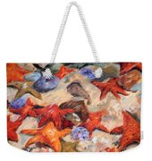 Starry Sea Weekender Tote Bag