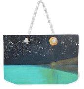 Starry Sky Above The Ocean Weekender Tote Bag