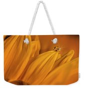 Starry Sunflower Weekender Tote Bag