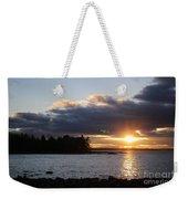 Starry Sunset Weekender Tote Bag