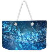 Stars And Bokeh Weekender Tote Bag by Setsiri Silapasuwanchai