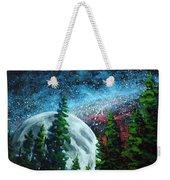 Stars And Moon Weekender Tote Bag