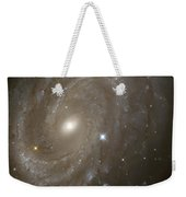 Stars And Spiral Galaxy Weekender Tote Bag