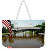 Stars And Stripes Frankenmuth Michigan Weekender Tote Bag