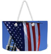 Stars And Stripes Weekender Tote Bag