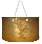 Stars Over Fishing Boat Weekender Tote Bag