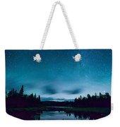 Stars Over Lake Vermilion Weekender Tote Bag