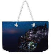Stars Over The Grotto Weekender Tote Bag