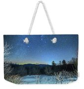 Stars Over The New Hampshire White Mountains Weekender Tote Bag
