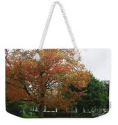 Start Of Autumn Weekender Tote Bag