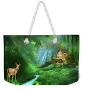 Startled By Your Intrusion Weekender Tote Bag