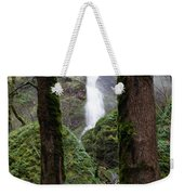 Starvation Creek Falls Between The Trees Weekender Tote Bag