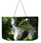 Starvation Creek Falls In September  Weekender Tote Bag