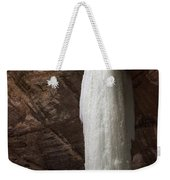 Starved Rock Icefall Weekender Tote Bag