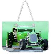 'starv'n Marvin' Hot Rod Pickup Weekender Tote Bag