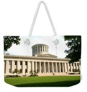 State Capitol Of Ohio Weekender Tote Bag
