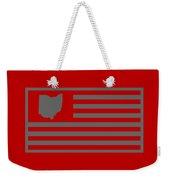 State Of Ohio - American Flag Weekender Tote Bag