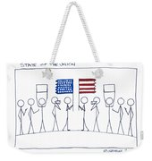 State Of The Union Weekender Tote Bag
