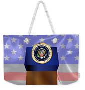 State Of The Union Podium Weekender Tote Bag