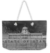 State Of Utah  Weekender Tote Bag