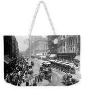 State Street - Chicago Illinois - C 1893 Weekender Tote Bag