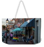 State Street Blues Weekender Tote Bag