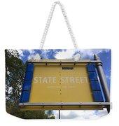 State Street Weekender Tote Bag