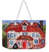 Stately City House Weekender Tote Bag