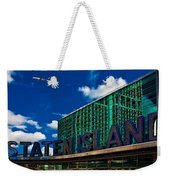 Staten Island Ferry Terminal Weekender Tote Bag