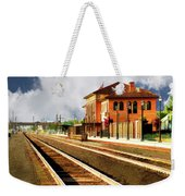 Station In Waiting Weekender Tote Bag