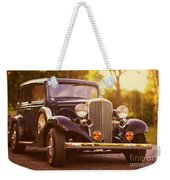 Station Wagon Weekender Tote Bag