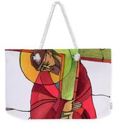 Stations Of The Cross - 02 Jesus Accepts The Cross - Mmjcs Weekender Tote Bag