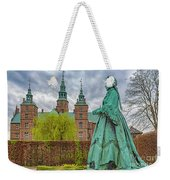Statue At Rosenborg Castle Weekender Tote Bag