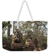 Statue Heads Ankor Thom Weekender Tote Bag