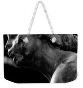 Statue In Black And White Weekender Tote Bag