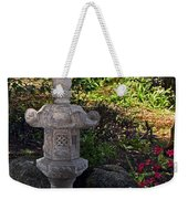 Statue In Shadows Weekender Tote Bag